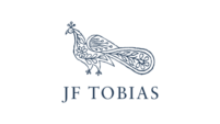The logo of the wine merchant JF Tobias