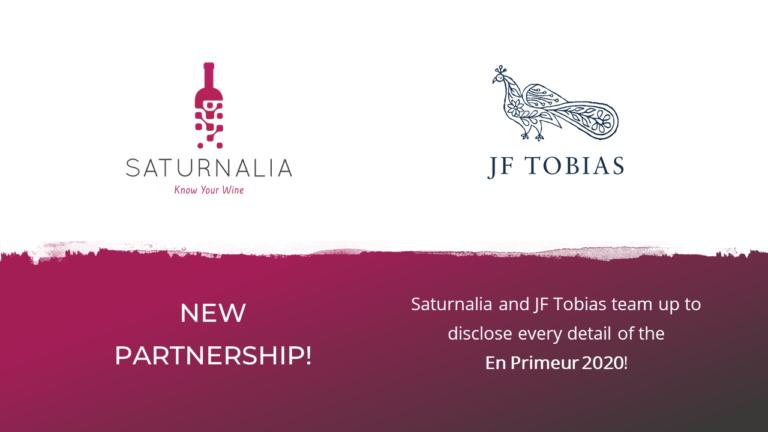 Saturnalia parterships with JF Tobias
